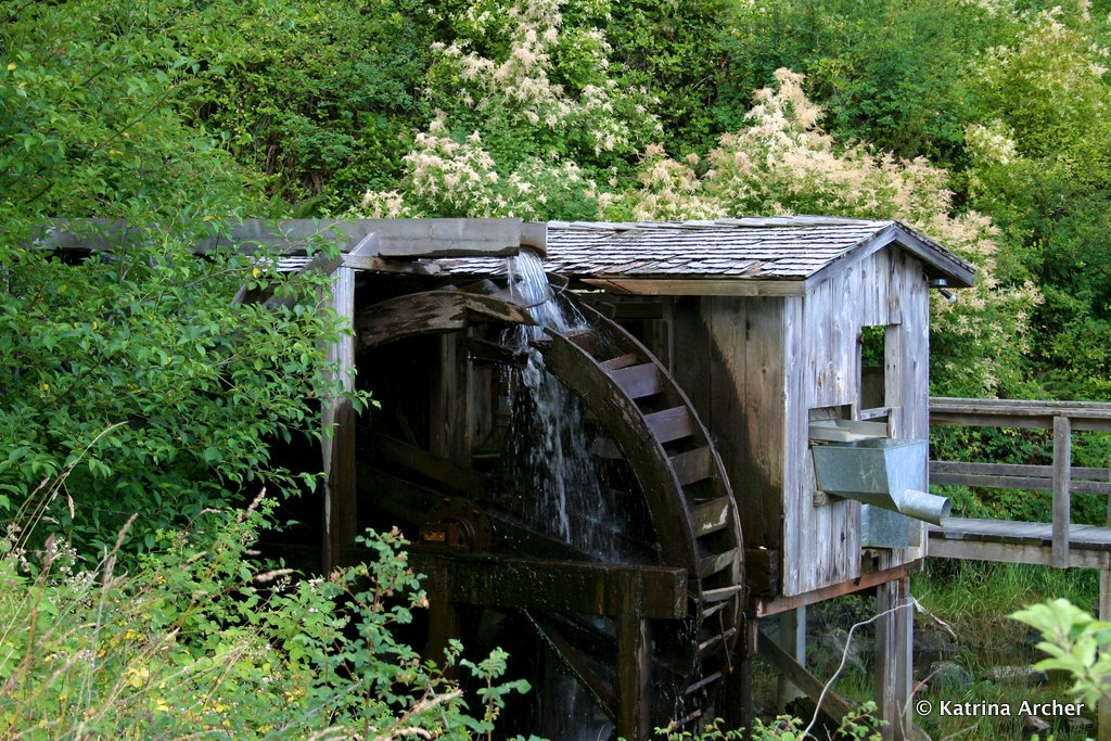 Waterwheel - Lund, Strait of Georgia